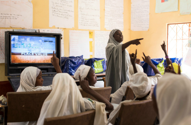 Discovery Project Nigeria classroom
