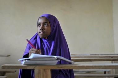 Somali girl student