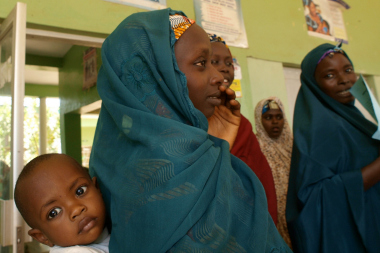 Photo credit: USAID, Nigerian woman and child