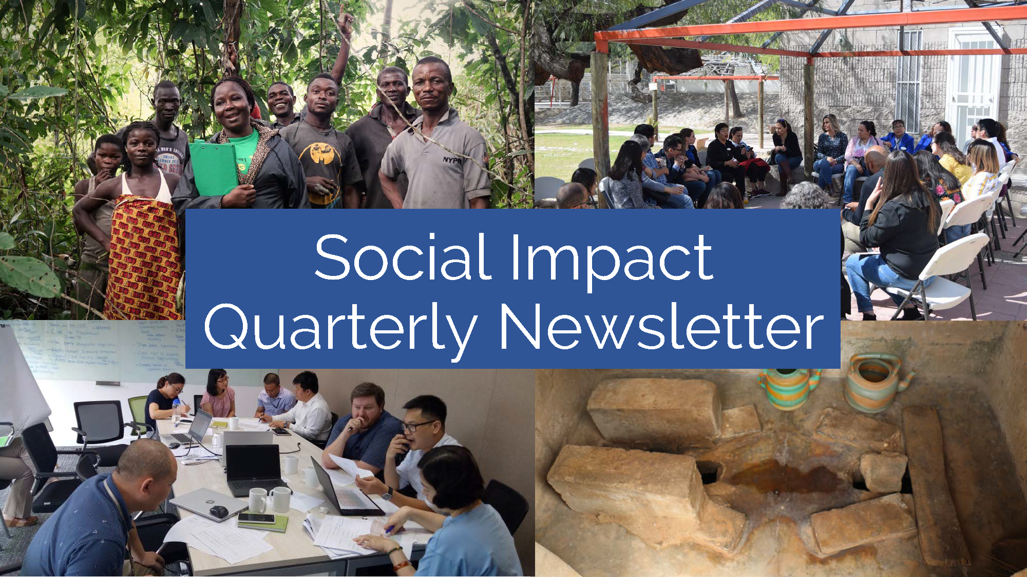 Social Impact's Quarterly Newsletter