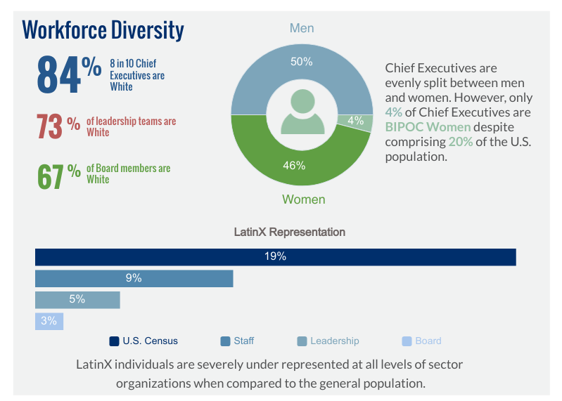 84% of Chief Executives are White: Key Findings from the BRIDGE Survey